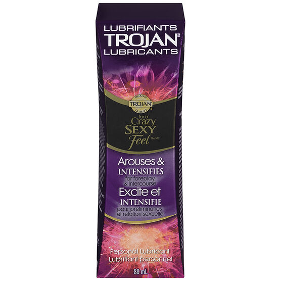 Trojan Personal Lubricant - Arouses & Intensifies - 88ml