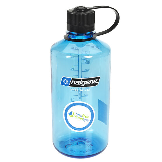 Nalgene Narrow Mouth Bottle - Blue - 1L