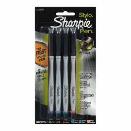 Sharpie Fine Point Pen - Assorted Colour - 4 pack