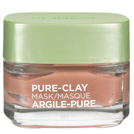 L'Oreal Skin Expert Pure-Clay Mask - Exfoliating & Pore Refining - 50ml