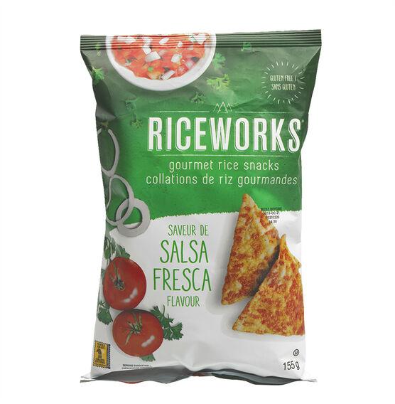 Rice Works Chips - Salsa Fresca - 155g