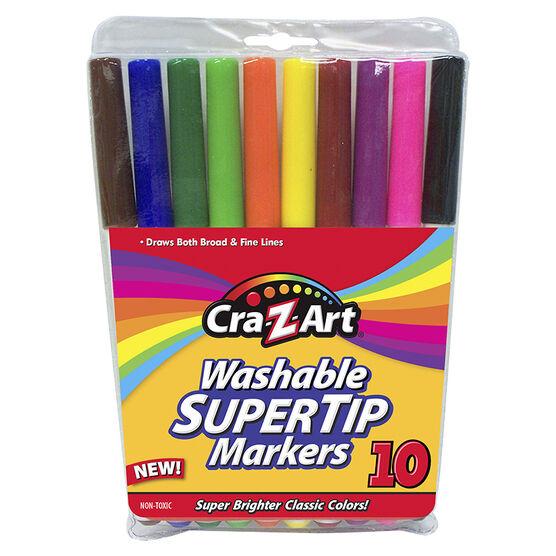 Cra-Z-Art Supertip Markers - 10's