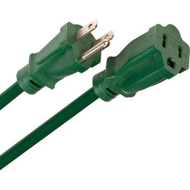 Globe Cord - 1 Outlet - 8m - Green