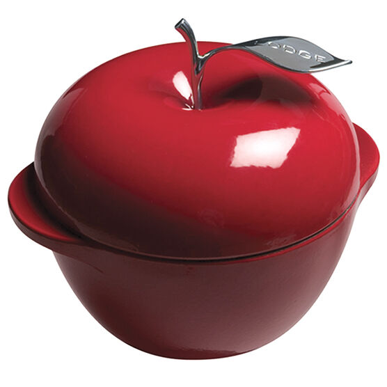 Lodge Cast Enamel Apple Dutch Oven - Red - 3qt