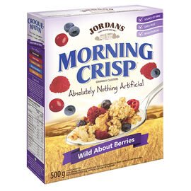 Jordans Morning Crisp Cereal - Wild About Berries - 500g