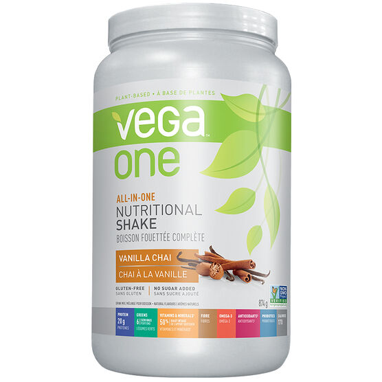 Vega One All-In-One Nutritional Shake - Vanilla Chai - 874g