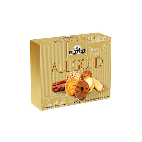 Waterbridge Biscuits - All Gold - Assorted - 640g