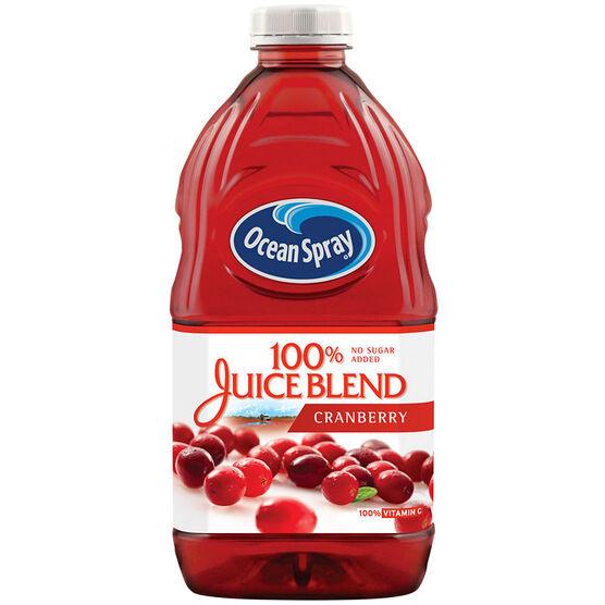 Ocean Spray 100% Juice Blend - Cranberry - 1.77L