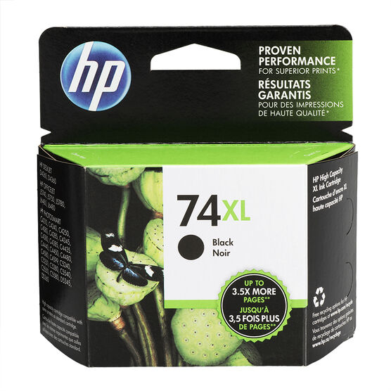 HP 74XL Ink Cartridge - Black