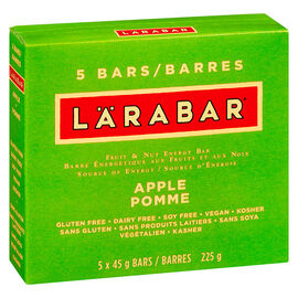 Larbar Bars - Apple Pie - 5 x 45g