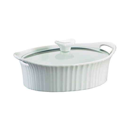 Corningware Oval Casserole - French White - 1.5qt