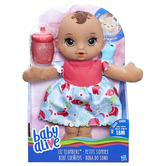 Baby Alive Lil Slumbers - Brunette