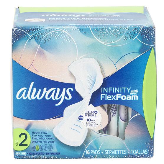 Always Infinity Pads - Heavy - 16's