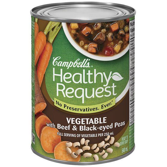 Campbell's Healthy Request Soup - Vegetable - 540ml