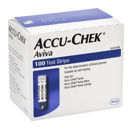 Accu-Chek Aviva Test Strips - 100's