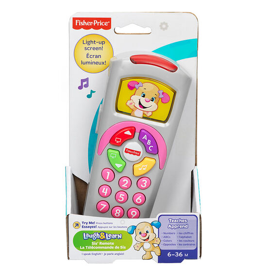 Fisher Price Laugh 'N Learn Remote - DGB78 - Assorted