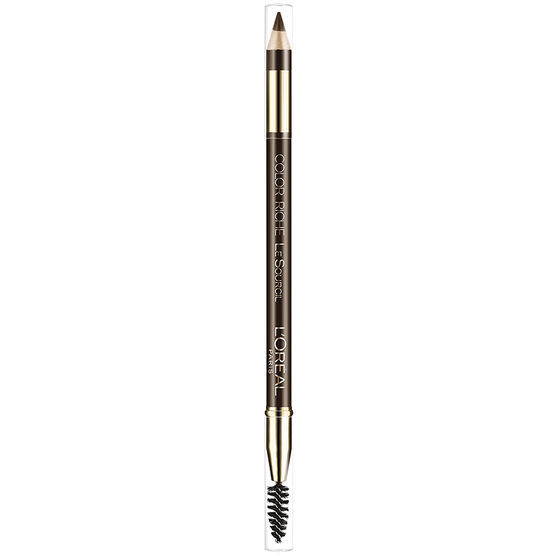 L'Oreal Color Riche Le Sourcil Brow Pencil - Dark Brown