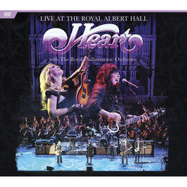Heart - Live at the Royal Albert Hall with The Royal Philharmonic Orchestra - DVD