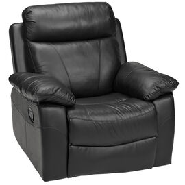 London Drugs Leather Armchair - Black