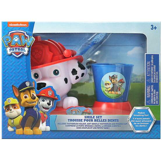 Paw Patrol Smile Set Toothbrush & Holder