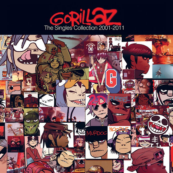Gorillaz - The Singles Collection 2001-20 - CD