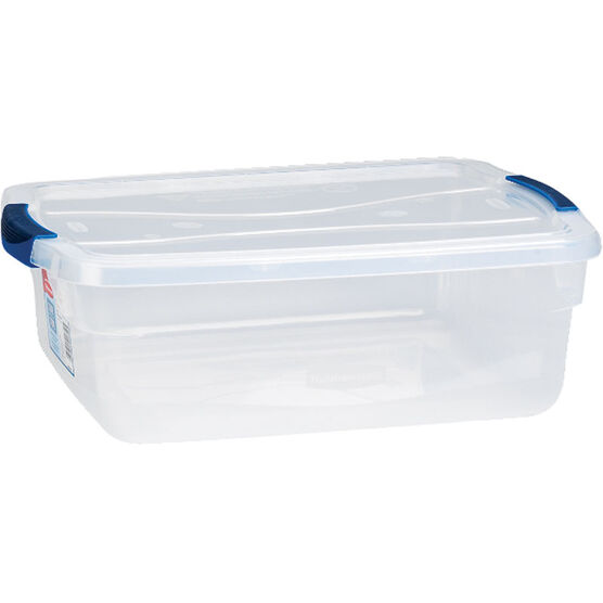 Rubbermaid Cleverstore Latch Box - Clear - 14.2L