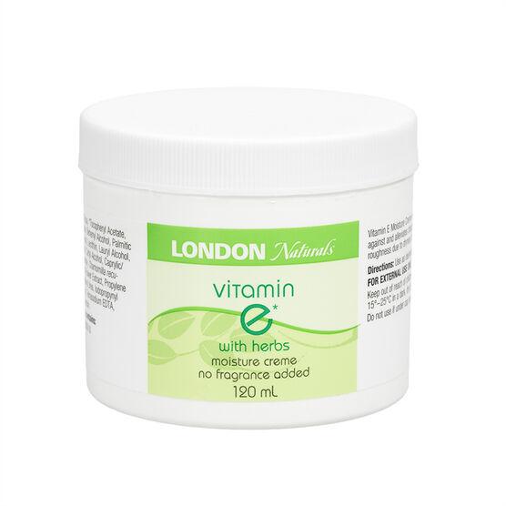 London Naturals Vitamin E Moisture Creme with Herbs - 120ml