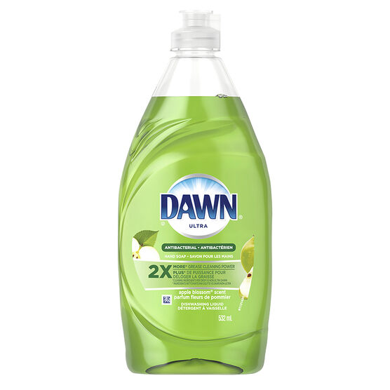 Dawn Antibacterial Dishwashing Liquid - Apple Blossom - 532ml