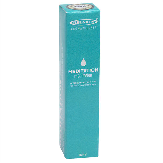 Relaxus Aromatherapy Roll-Ons - Meditation - 10ml