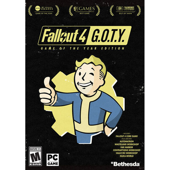 PC Fallout 4 - Game of the Year Edition