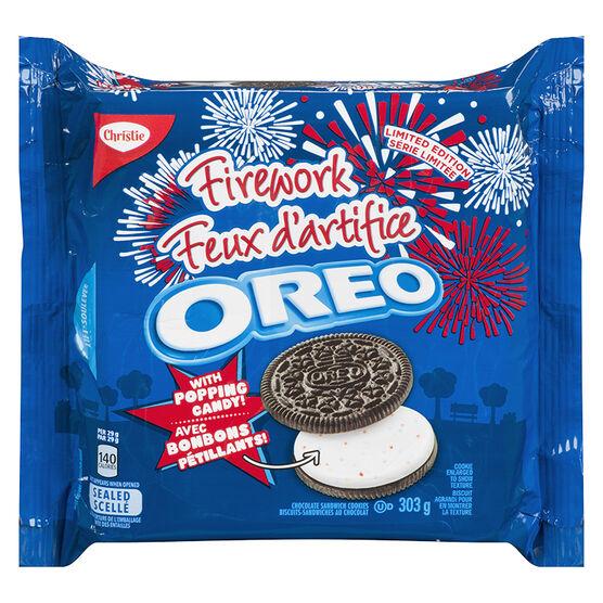 Oreo Firework Cookies - 303g