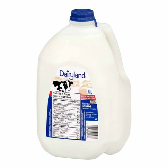 Dairyland Skim Milk - 4L
