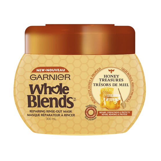 Garnier Whole Blends Repairing Rinse-Out Mask - Honey Treasures - 300ml