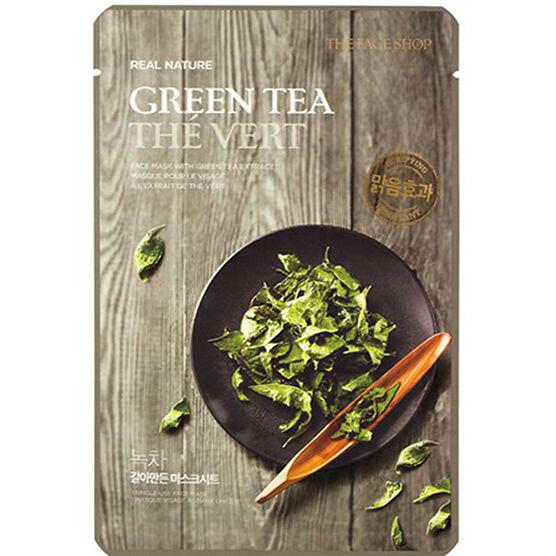 Real Nature Face Mask - Green Tea - 20g