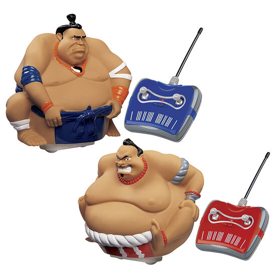 Blue Hat Remote Control Sumo Wrestling