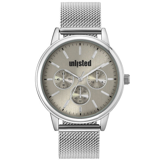 Unlisted by Kenneth Cole Men's Chronograph Watch - 10031970