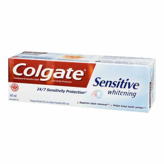 Colgate Sensitive Toothpaste - Whitening - 90ml