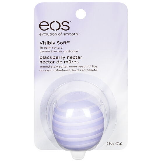 eos Visibly Soft Lip Balm - Blackberry Nectar - 7g