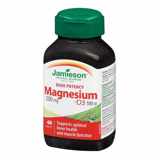 Jamieson Magnesium 500mg - 60's