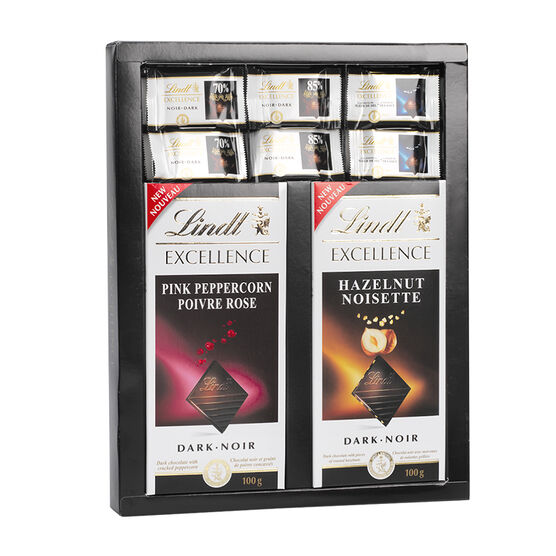 Lindt Excellence Chocolate Box - Assorted - 515g