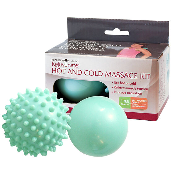 Zenzation Athletics Rejuvenate Hot & Cold Kit Massage Kit - 2 piece