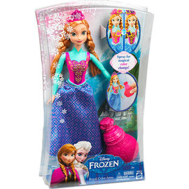Frozen Royal Colour Change Doll - Assorted