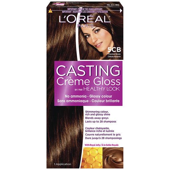 L'Oreal Casting Creme Colour - 5CB Chestnut Brown