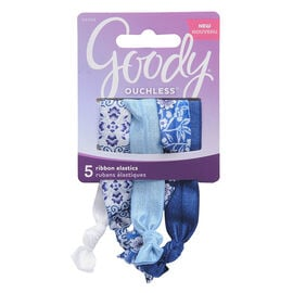 Goody Ouchless Ribbon Elastics - 8509 - 5's