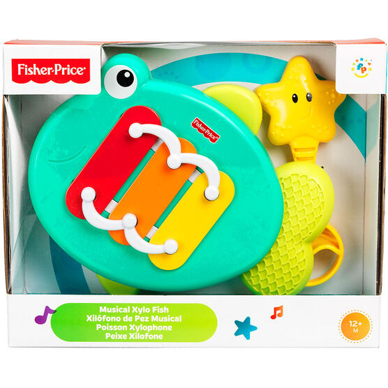 Fisher Price Growing Baby Musical Xylo Fish