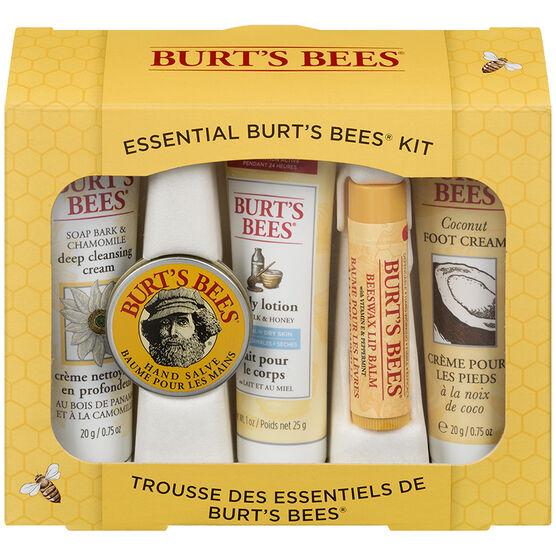 Burt's Bees Essential Kit - 5 piece