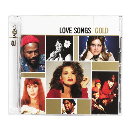 Various - Love Songs Gold - CD