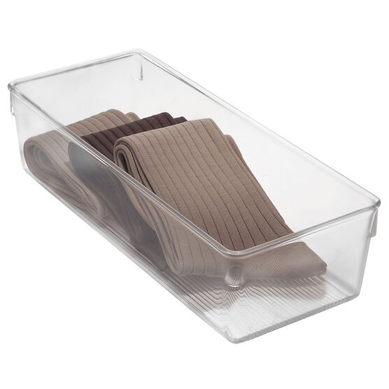 InterDesign Linus Drawer Organizer - Clear - 5 x 12 x 3 inch