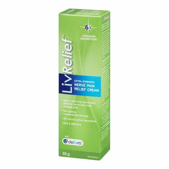 LivRelief Nerve Pain Relief Cream - 50g
