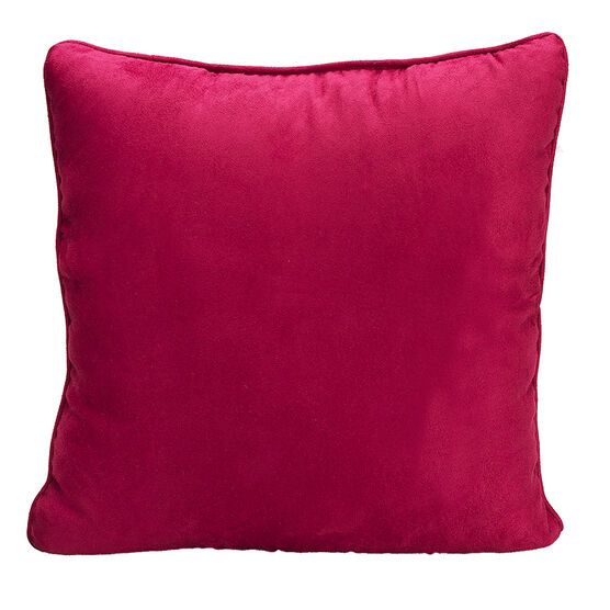 London Drugs Faux Suede Cushion - Anemone